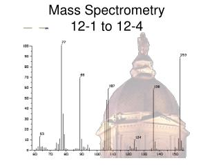 Mass Spectrometry  12-1 to 12-4