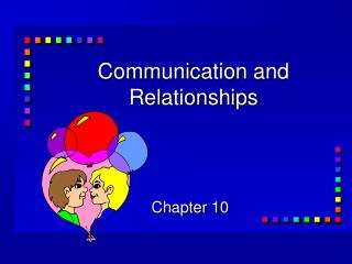 Communication and Relationships