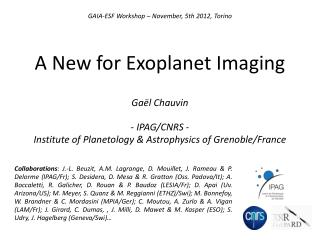 A New for  Exoplanet  Imaging