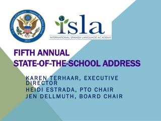 Fifth Annual State-of-the-School Address