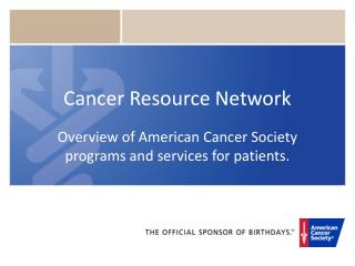 Cancer Resource Network