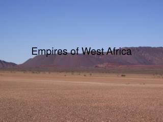 Empires of West Africa