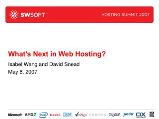 What's Next in Web Hosting?