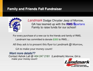 Family and Friends Fall Fundraiser
