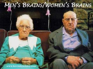 Men's Brains/Women's Brains