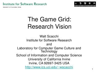 Game Research Grid for Science Learning Games