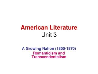 what is american about american literature Is such literature american, even if it is vociferously anti-american so our first major question is, what is american about american literature if you examine a literature anthology utilized in american literature ii courses, you will find that it is almost entirely full of poems, stories, and plays.