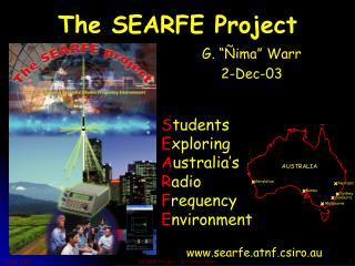 The SEARFE Project