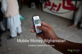 Mobile Money Afghanistan Creative Commons Photos