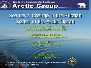 Sea Level Change in the Russian Sector of the Arctic Ocean