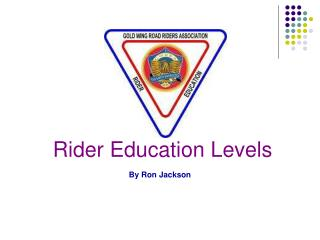 Rider Education Levels