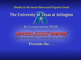 Thanks to the Susan Harwood Program Grant