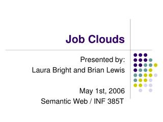 Job Clouds