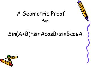 A Geometric Proof