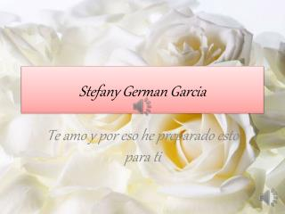 Stefany German Garcia