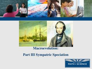Macroevolution: Part III Sympatric Speciation