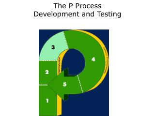 The P Process Development and Testing