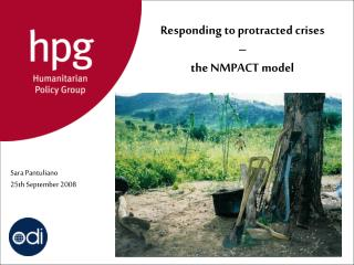 Responding to protracted crises – the NMPACT model