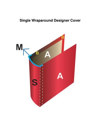 Single Wraparound Designer Cover