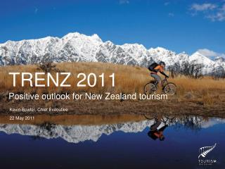 TRENZ 2011 Positive outlook for New Zealand tourism