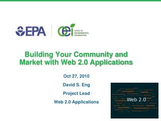Building Your Community and Market with Web 2.0 Applications