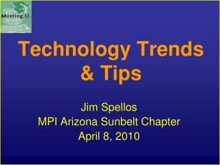 Technology Trends & Tips