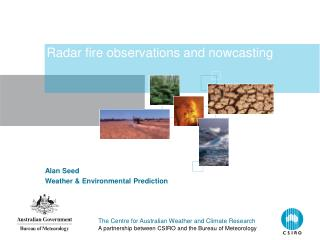Radar fire observations and nowcasting