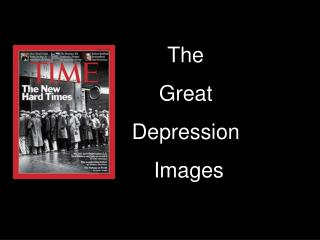 The        Great        Depression        Images