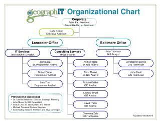 organizational chart of levis company