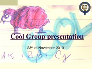 Cool Group presentation
