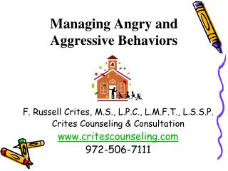 Managing Angry and Aggressive Behaviors