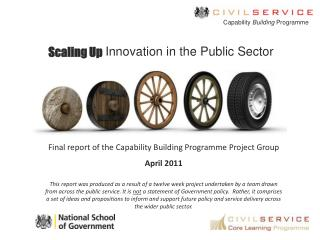 Scaling Up Innovation in the Public Sector