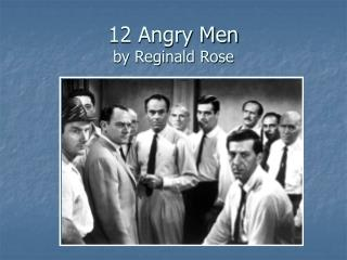 leadership analysis 12 angry men Leadership in the movies: twelve angry men leading into 2015: current and future trend analysis of the leadership publishing market volkswagen use of job rotation is using the wrong set of tools and fixing the leak not the plumbing.