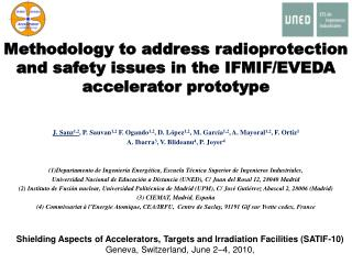 Methodology to address radioprotection and safety issues in the IFMIF/EVEDA accelerator prototype