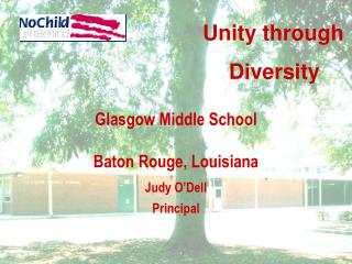 Glasgow Middle School Baton Rouge, Louisiana