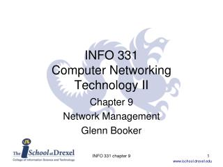 INFO 331 Computer Networking Technology II