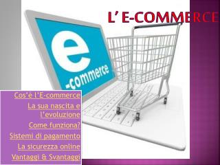 L' E-commerce