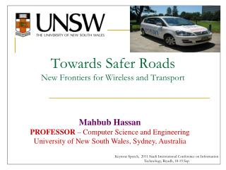 Towards Safer Roads New Frontiers for Wireless and Transport