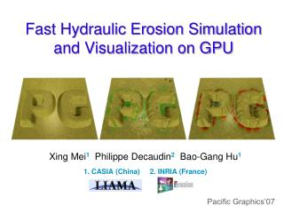 Fast Hydraulic Erosion Simulation and Visualization on GPU
