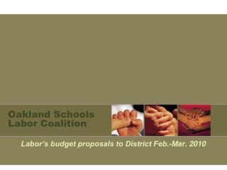 Oakland Schools Labor Coalition