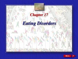 Chapter 17 Eating Disorders