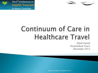 Continuum of Care in Healthcare Travel