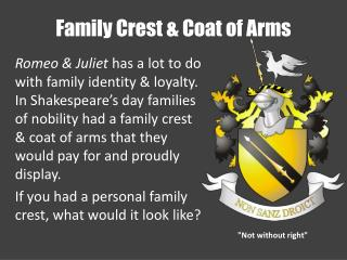Family Crest & Coat of Arms