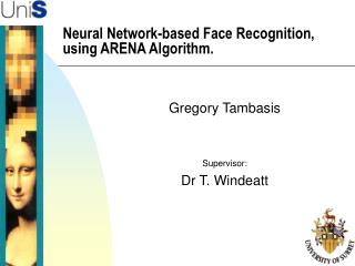 Neural Network-based Face Recognition, using ARENA Algorithm.