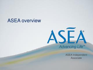 ASEA overview