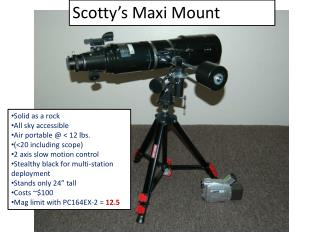 Scotty's Maxi Mount