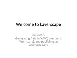 Welcome to Layerscape