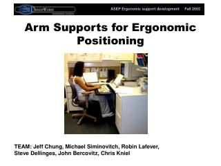 Arm Supports for Ergonomic Positioning