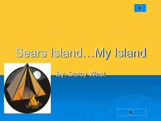 Sears Island…My Island