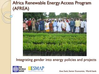Africa Renewable Energy Access Program (AFREA)